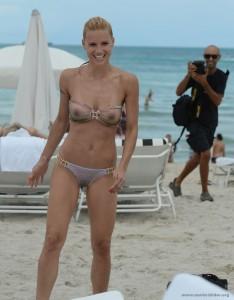 Michelle Hunziker nackt