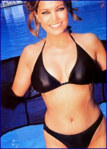 Sylvie Meis oben ohne und nackt